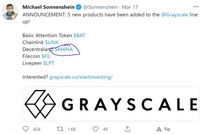 MANA|価値のある暗号通貨に?Decentralandに不安な点