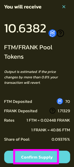 魔界DeFiで魔界コインを買う→あずけて金利をかせぐ方法