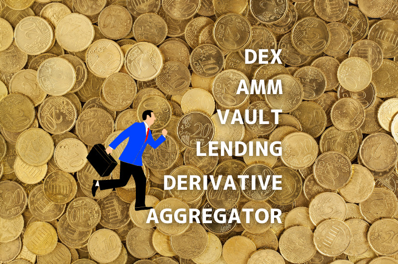 DeFiの種類 自分に合ったDeFiでかしこく投資!