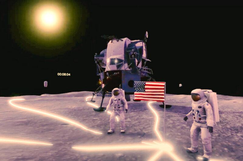 アポロ11号月面着陸|Decentralandのメタバースで再現!
